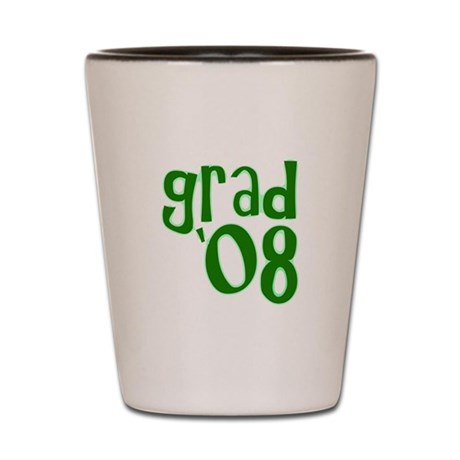 Grad 08 - Green - Shot Glass
