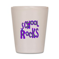 School Rocks - Purple - Shot Glass
