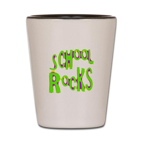School Rocks - Lime Shot Glass