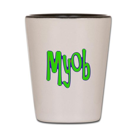 MYOB Shot Glass