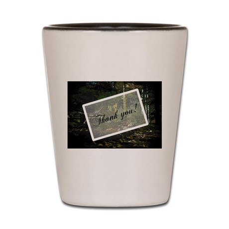 Woodland Path Shot Glass