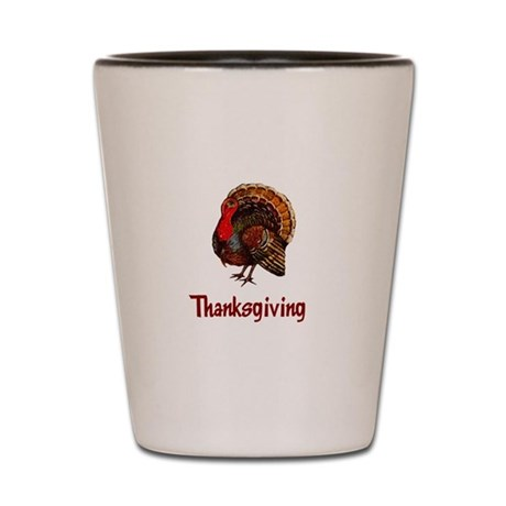 Thanksgiving Turkey Shot Glass