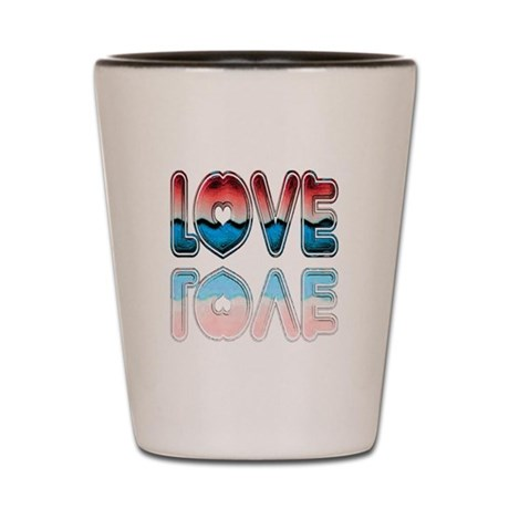 Valentine Love Shot Glass