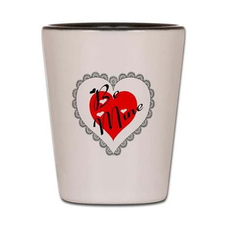 Lacy Heart Shot Glass