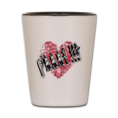 Valentines Love - Phhht !!! Shot Glass