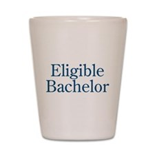 Eligible Bachelor Shot Glass