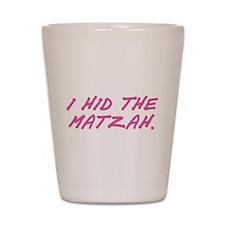 Matzah Pink Shot Glass
