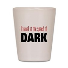 Speed Of Dark Shot Glass