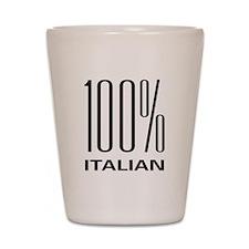 100 Percent Italian Shot Glass