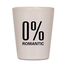 0% Romantic Shot Glass