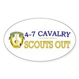 4th Squadron 7th Cavalry Decal