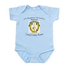 4th Squadron 7th Cavalry Infant Bodysuit