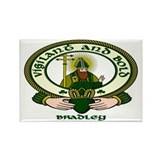 Bradley Clan Motto Rectangle Magnet (10 pack)