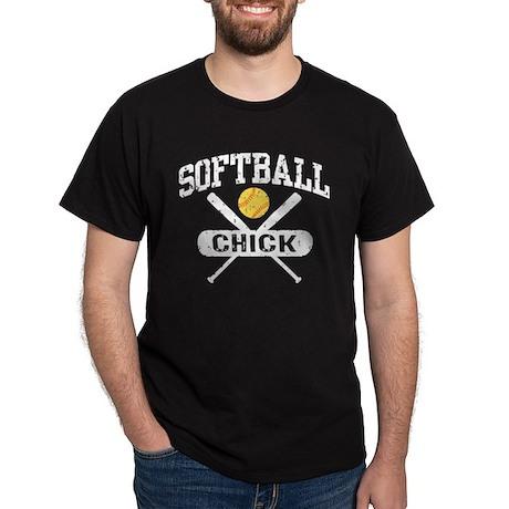 Softball Chick Dark T-Shirt