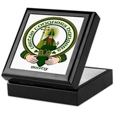 Brady Clan Motto Keepsake Box