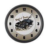 Watch ol' Bandit Run Large Wall Clock