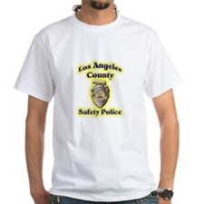 L A County Safety Police Shirt