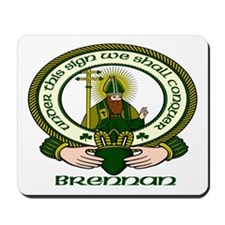 Brennan Clan Motto Mousepad
