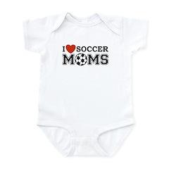 I Heart Soccer Moms Infant Creeper