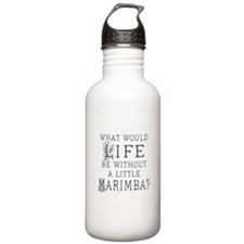 Marimba Quote Water Bottle