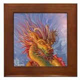 DRAGON SERENADE Framed Tile