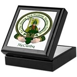 McCarthy Clan Motto Keepsake Box