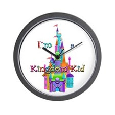 Kingdom Kid w/ Castle Image Wall Clock
