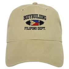 Filipino Bodybuilder Baseball Cap