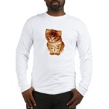 &quot;Orange Kitten&quot; Long Sleeve Tee