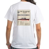 USS Ticonderoga CG-47 T-Shirt