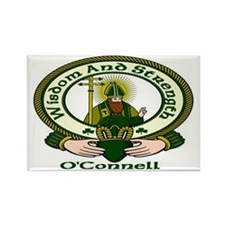 O'Connell Clan Motto Rectangle Magnet (10 pack)