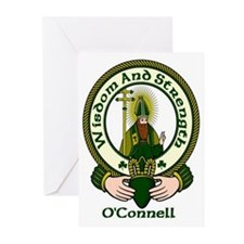O'Connell Clan Motto Greeting Cards (Pk of 10)