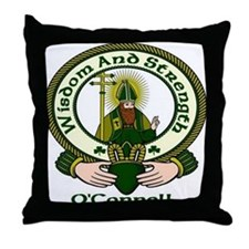 O'Connell Clan Motto Throw Pillow