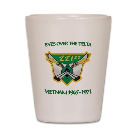 221st RAC Shot Glass
