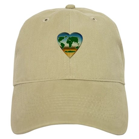 Heart-shaped Earth Cap