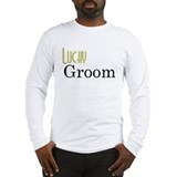 Lucky Groom New Section Long Sleeve T-Shirt