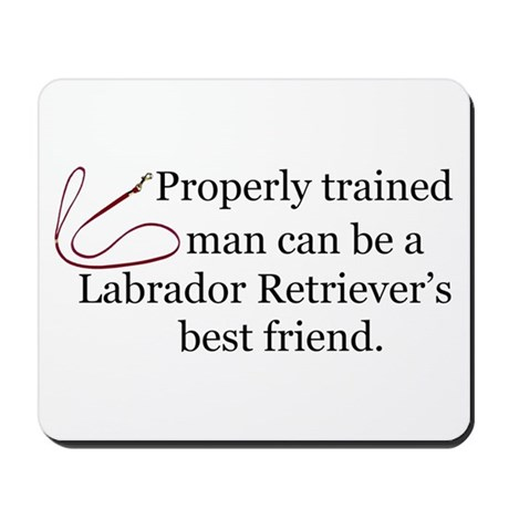 Labrador Retriever Training Mousepad