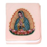 Lady of Guadalupe T2 baby blanket