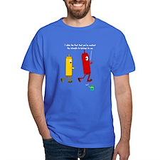 Ketchup Mustard Relish Race S T-Shirt