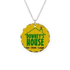 Downey's House Sm Logo Necklace