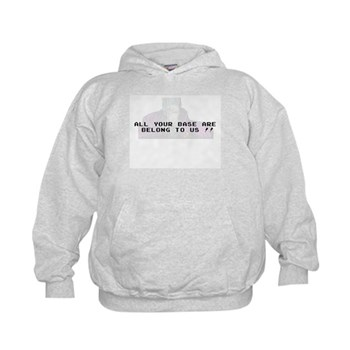 All Your Base Are Belong To Us Kids Hoodie