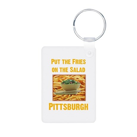 Fries Aluminum Photo Keychain