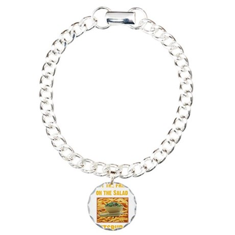Fries Charm Bracelet, One Charm