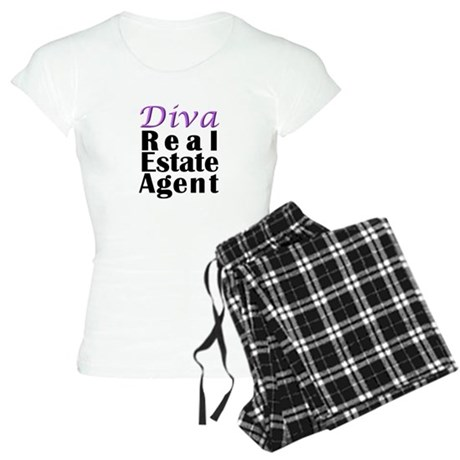 Diva Real estate Agent Women's Light Pajamas