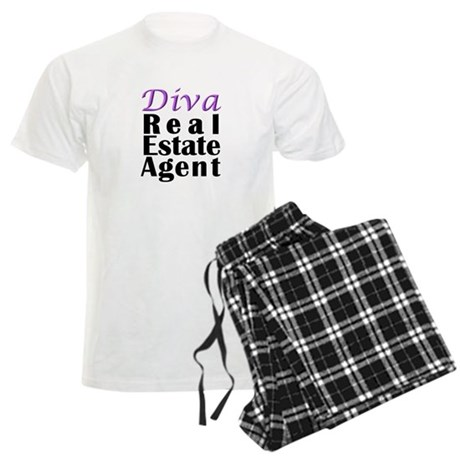 Diva Real estate Agent Men's Light Pajamas
