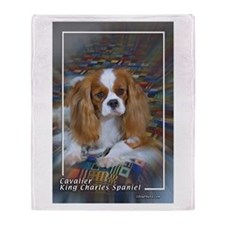 Cavalier-4 Throw Blanket