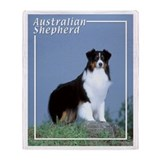 Australian Shepherd-6 Throw Blanket