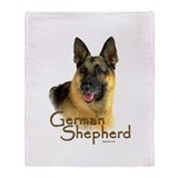 German Shepherd Dog-2 Throw Blanket