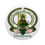 Dempsey Clan Motto Ornament (Round)