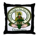 Dempsey Clan Motto Throw Pillow